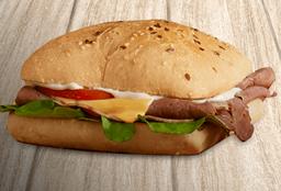 Sándwich roastbeef y queso