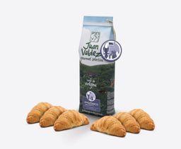 Combo Café Amazonico y Croissant x6