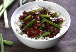 Mongolian Beef lunch Bowl