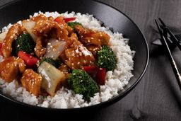 Sesame Chicken lunch Bowl