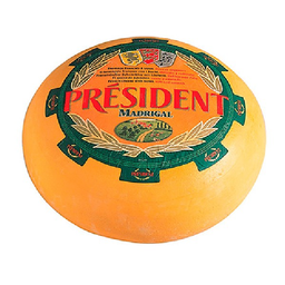 President Queso Madrigal Bloque