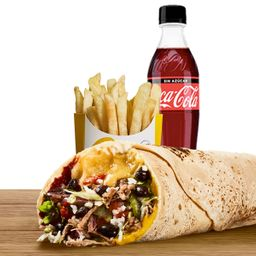 Combo Burrito Ropa Vieja