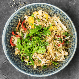 Arroz de Curry Verde