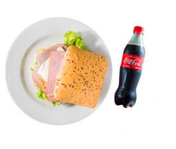 Combo Sándwich Cuatro Carnes