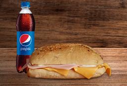 Sandwich Jamon Y Queso + Nectar Oma o Postobon pet 400ml