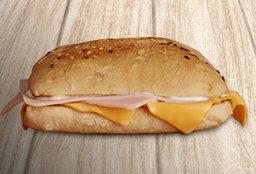 Sadwich jamon y queso