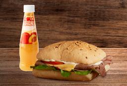 Sandwich Roastbeeff + Nectar Oma o Postobon pet 400ml