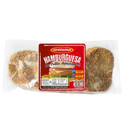 Aretama Carne Para Hamburguesa Apanada