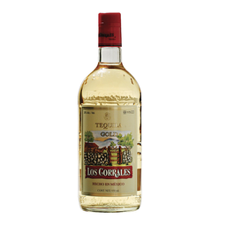 Los Corrales Tequila Gold Botella