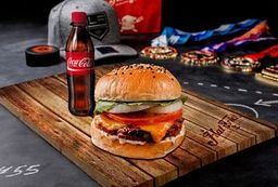 Combo Cheese burger personal