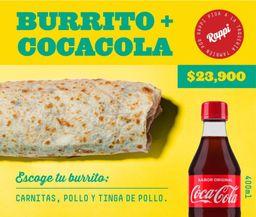 Super Burrito mas Coca Cola