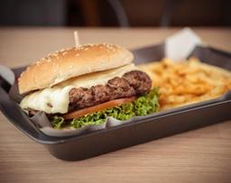 Media libra Rock Burger
