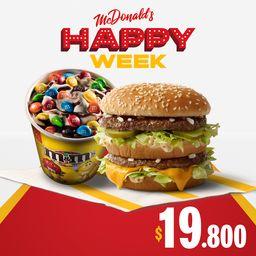 Big Mac y McFlurry M&M