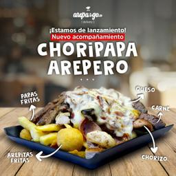 Choripapas Arepero