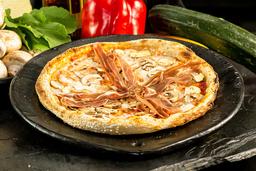 Pizza – Fungi Prosciutto e di Bufala
