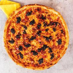 pizza ciruela y tocineta