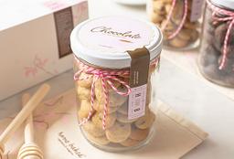 Mini Cookies de Cranberries & Chocolate Blanco