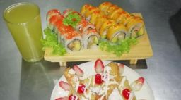 Sushi 2x1, Bebida y Postre