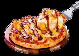 Pizza Mediana Hawaiana BBQ