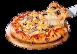 Pizza Mediana Pollo y Champiñones