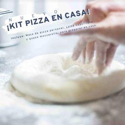 Nuevo kit de pizza personal en casa