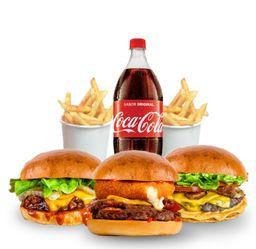 Combo Tri Burger