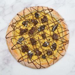 Pizza Brownie Melcochudo y Oreo