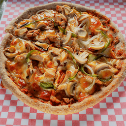 Pizzeta Pollo Champiñones