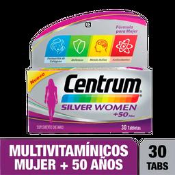 2 x Centrum Silver Women + 50 años X 30 tabs