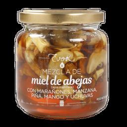 Miel + fruta B Maraón, piña, manzana, uchuva 250g