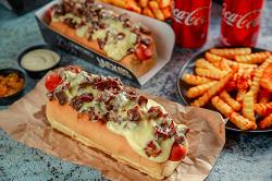 Súper promo hot dogs Gran  Danés