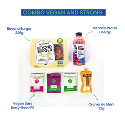 Combo Vegan and Strong