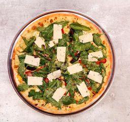 pizza mediana breva  con tocineta
