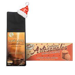 Combo Café Latte + Galletas Artesanales