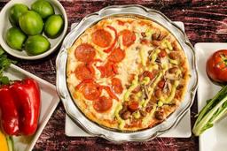 Promo Pizza Mediana con gaseosa