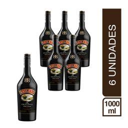 Pack 6 Botellas Crema De Whisky Baileys 1000Ml