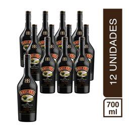 Pack 12 Botellas Crema De Whisky Baileys 700Ml