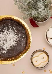 Butterscotch & Oats Pie