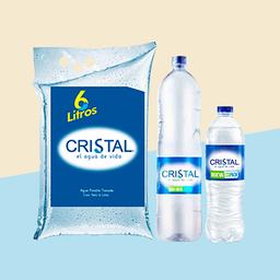 Combo Agua Cristal