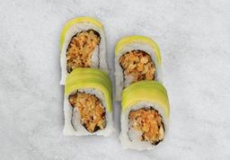 Rollo vegetales tempura + bebida