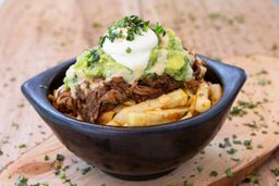 Papas con Pulled Pork