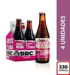 Cerveza BBC Macondo 330ml  X4