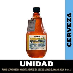 Cerveza Fresca de Barril Macondo.