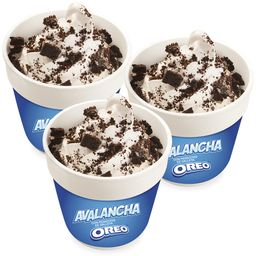 3 Avalanchas Oreo
