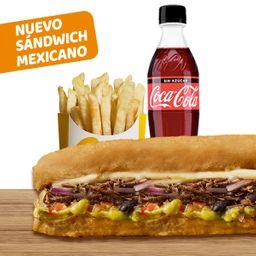 Combo Sándwich Mexicano