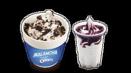 Avalancha Oreo + Sundae Mora