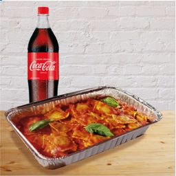 Raviolis Familiar mas coca cola 1.5 LT
