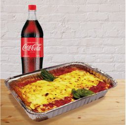 Cannellonis Familiar mas coca cola 1.5 LT