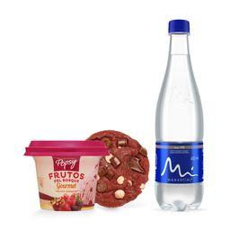 Galleta Suprema con helado+ botella de agua
