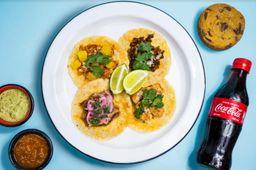 Caja de Tacos y Galleta